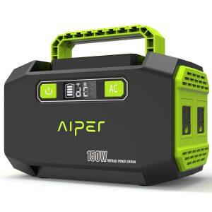 AIPER 167W 45000mAh Solar Generator