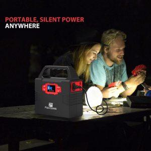 PAXCESS 100W 40800mAh Portable Solar Generator