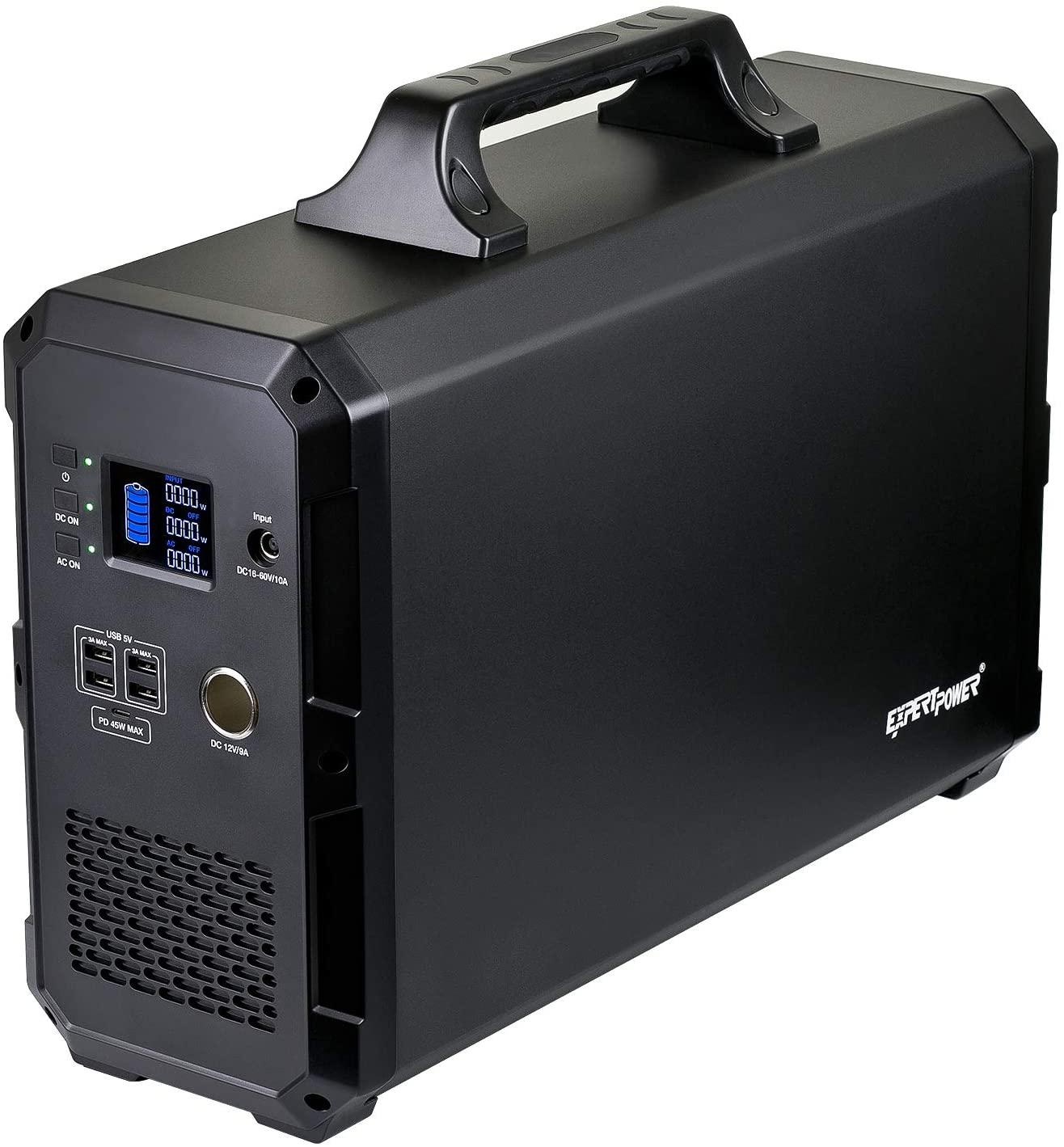 ExpertPower Alpha 2400 Lithium Portable Solar Generator