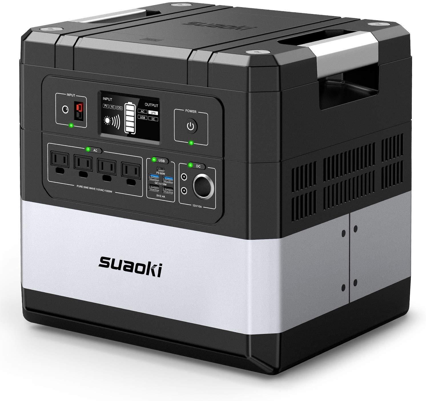 SUAOKI UPS Power Station, G1000